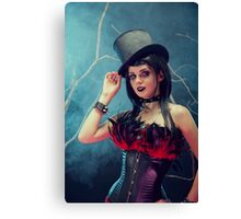Bling Mag Smile Canvas Print