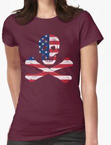 Skull and Bones American Flag Edition T-Shirt