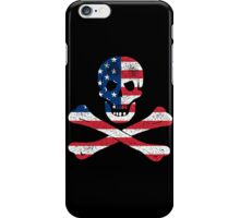 Skull and Bones American Flag Edition iPhone Case/Skin