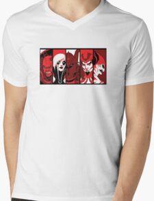 City of Villains Mens V-Neck T-Shirt