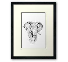 Oloololo's Elephant Framed Print