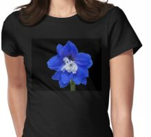 Delphinium - Nile Blue Womens Fitted T-Shirt