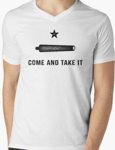 Gonzales Flag Mens V-Neck T-Shirt