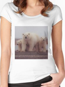 Polar Women's Fitted Scoop T-Shirt