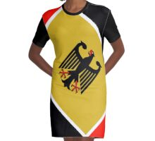 Bundesrepublik Deutschland ( Bundesadler) Graphic T-Shirt Dress