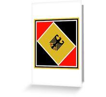 Bundesrepublik Deutschland ( Bundesadler) Greeting Card