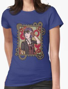 Steampunk Ellie Womens Fitted T-Shirt