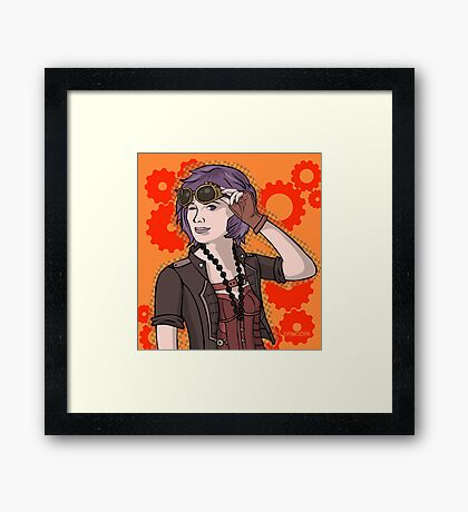 Steampunk Ellie Framed Print