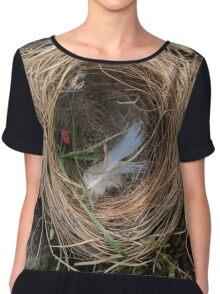 empty nest Chiffon Top