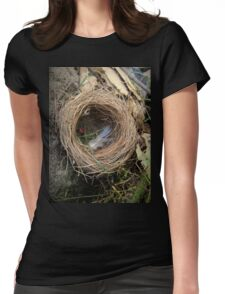 empty nest Womens Fitted T-Shirt