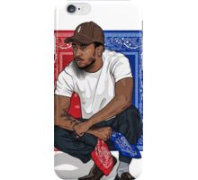 Kendrick Lamar sits down and keep calm iPhone Case/Skin