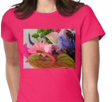 Pollen Everywhere! Assorted Flowers Womens Fitted T-Shirt
