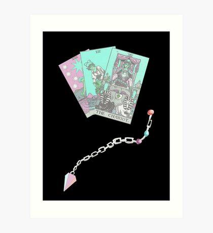 Tarot and Pendulum Art Print