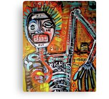In love with Basquiat red bone wonderful Canvas Print