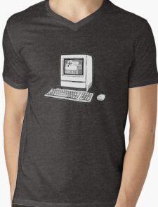 Classic Fruit Box Mens V-Neck T-Shirt