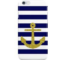 Gold Anchor iPhone Case/Skin