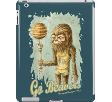 Go Beavers! (vintage) iPad Case/Skin