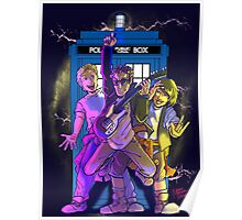 Most Excellent Adventure in Time and Space Poster