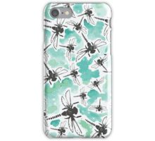 Dragonfly Handmade Print iPhone Case/Skin