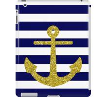 Gold Anchor iPad Case/Skin