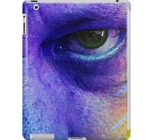green eye from hell iPad Case/Skin