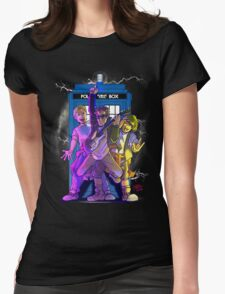 Most Excellent Adventure in Time and Space Womens Fitted T-Shirt