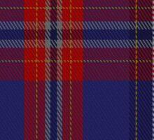 01329 University of Dundee Tartan  Sticker