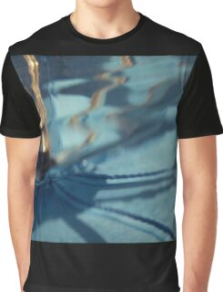 Shimmery Spin Graphic T-Shirt