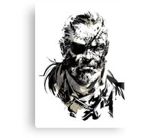 Solid Snake Canvas Print