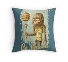 Go Beavers! (vintage) Throw Pillow