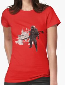 The Fury Womens Fitted T-Shirt