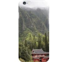Byodo-In Temple  iPhone Case/Skin