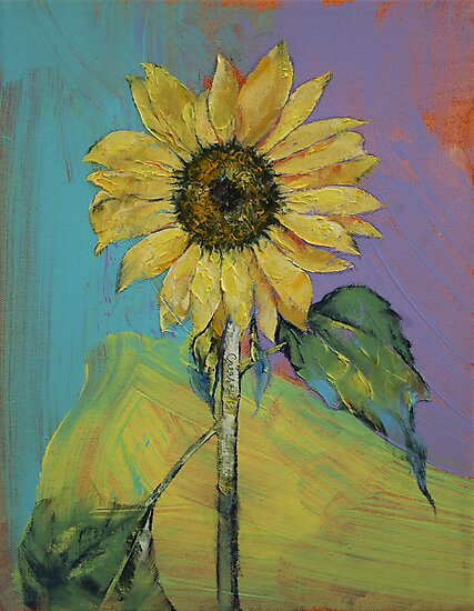 Sunflower by Michael Creese