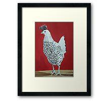 Funky Chicken Framed Print