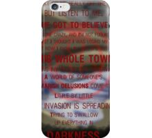 Swallowed by Darkness iPhone Case/Skin