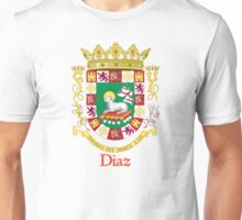 Diaz Shield of Puerto Rico Unisex T-Shirt