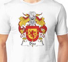 Diaz Coat of Arms/Family Crest Unisex T-Shirt
