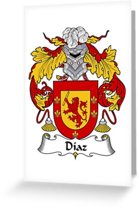 Diaz Coat of Arms/Family Crest by William Martin