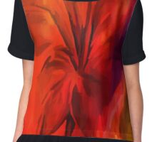 sunset and vine Chiffon Top