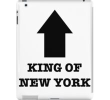 king of new york iPad Case/Skin