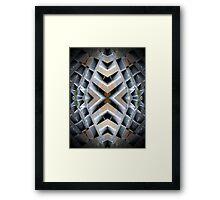 X Matrix Framed Print