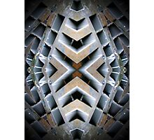 X Matrix Photographic Print
