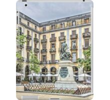 Independence Square in Girona (Catalonia) iPad Case/Skin