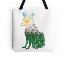 Dog With A View Tote Bag