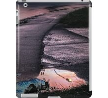 pink road with ghost-dog iPad Case/Skin
