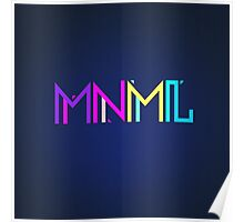Minimal Type (Colorful Edm) Typography - Design Poster