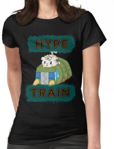 Pokemon hype train Womens Fitted T-Shirt