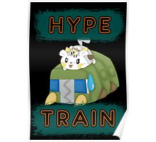 Pokemon hype train Poster