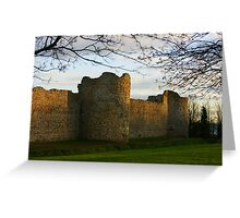 Autumn on the East Walls Greeting Card