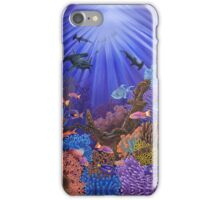 Underwater coral reef iPhone Case/Skin